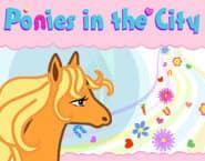 Пони в городе